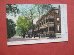 Main Street  Hotel Hunterdon  New Jersey >   Ref 4318 - Vereinigte Staaten