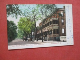 Main Street  Hotel Hunterdon  New Jersey >   Ref 4318 - United States