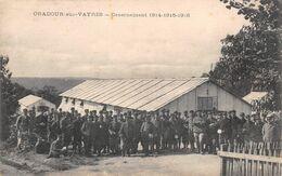 87 - ORADOUR-sur-VAYRES - CASERNEMENT 1914-1915-1916 - Oradour Sur Vayres
