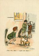 F. POULBOT * CPA Illustrateur * N°1116 E * Barré Dayez - Poulbot, F.