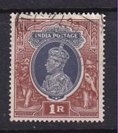 India: 1937/40   KGVI    SG259     1R     Used - 1936-47 Roi Georges VI