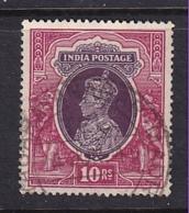 India: 1937/40   KGVI    SG262     10R     Used - 1936-47 Roi Georges VI