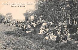 87 - MAGNAC - LAVAL - Procession De 9 Lieues - Sejotte- Le Déjeuner Du Clergé. - Andere Gemeenten