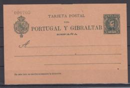Spanien Ganzsache MiNo. P 33II ** Mit Kontrollnummer - 1850-1931