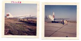 Photo Roumanie Aviation Civile Bi Moteurs Avion - Orte