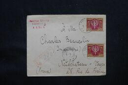 POLOGNE - Enveloppe En Recommandé De Varsovie Pour La France En 1922 - L 69268 - Briefe U. Dokumente