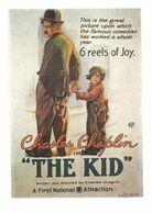 FILM / THE KID CHARLES CHAPLIN - CARTE ECRITE - Manifesti Su Carta