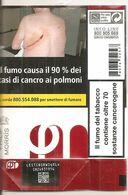 PHILIP MORRIS RED SOFT ITALY BOX SIGARETTE - Tabaksdozen (leeg)