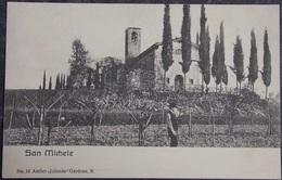 """ITALY ITALIA Cartolina SAN MICHELE (Atelier """"Jolanda"""" Gardone)  - Lombardia - Italie"""
