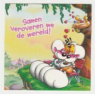 Postcard DIDDLE Diddles Kaasblad Depesche Verzamelkaart: 06/06 - Diddl