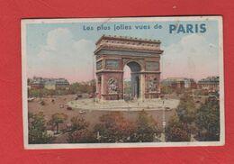 CARTE A SYSTÈME  PARIS - Dreh- Und Zugkarten
