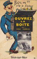 Vendée-85-sion Sur Mer-avec Le Dépliant - Sonstige Gemeinden