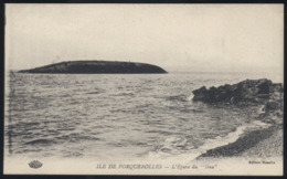 "CPA - (83) Ile De Porquerolles - L'épave Du ""Iéna"" - Porquerolles"