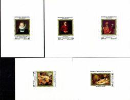 Madagascar 766/70 épreuve De Luxe Musée De L'Ermitage Léningrad Russia, Rembrandt, Rubens, - Musei