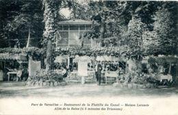 N°2746 R -cpa Restaurant De La Flotille Du Canal- Maison Lecomte- Parc De Versailles- - Hotels & Gaststätten