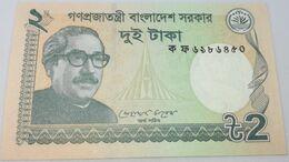 Billete Bangladesh. 2011. 2 Taka. SC. Sin Circular. Posibilidad De Números Correlativos, Billete Sacado De Un Taco - Bangladesh