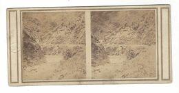 Algérie  Le Barrage De La Chiffa   Stereo Vers 1860 - Stereoscopio