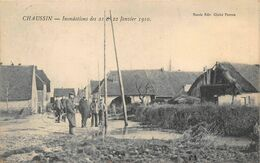 Chaussin Inondations 1910 éd Nicole Cliché Perron - Other Municipalities