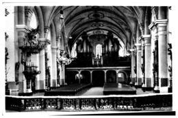 Fulda Inneres Der Klosterkirche Frauewnberg - Blick Zur Orgel Gl 3.10.1939 Als Feldpost - Fulda