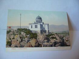 ATHÈNES GRECE Athènes (en Grec : Αθήνα / Athína, /a.ˈθi.na/ L'OBSERVATOIRE  CPA  C.ELEFTHEROUDAKIS  N 32 - Greece