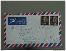 Spanje Espagne Zuid Afrika Afrique Du Sud Brief Omslag Enveloppe Lettre Cover - 1931-Aujourd'hui: II. République - ....Juan Carlos I