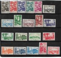 Colonie Francaise   Maroc De 1945/49  N°246 A 265A Complet ** Et * - Neufs