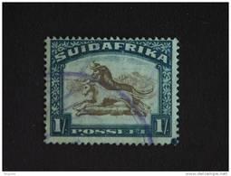 Zuid Afrika South Africa Afrique Du Sud RSA 1930-1936 Gnous Yv 53 O - Zonder Classificatie