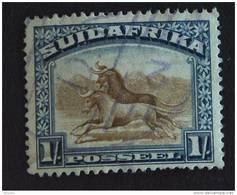Zuid Afrika South Africa Afrique Du Sud RSA 1927-1928 Gnous Yv 34 O - Zonder Classificatie