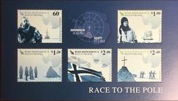 Ross Dependency 2011 Race To The Pole Sheetlet MNH - Ross-Nebengebiet (Neuseeland)