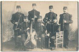 FONTENAY LE COMTE ? - Carte Photo - Musiciens Du 137° RI, Musique Militaire - Fontenay Le Comte