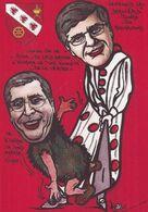 CPM Levallois Perret Tirage Limité En 30 Ex. Numérotés Signés Par Jihel Satirique Caricature Balkany - Levallois Perret
