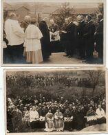 SAINT-DIÉ-2 CARTES PHOTO-CEREMONIE RELIGIEUSE - Saint Die