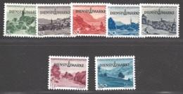 Liechtenstein Dienstmarken Michel Nummer 28-34 Postfrisch - Official