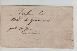 REF1663/ Précurseur LAC En Franchise ? Daté D'Aubel 20/7/1815 Du Maire D'Aubel > Maire De Gemmenich - 1815-1830 (Holländische Periode)