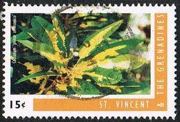 St Vincent SG3162b 1996 Crotons 15c Good/fine Used [26/23096/1D] - St.Vincent (1979-...)