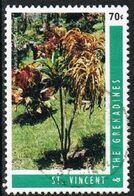 St Vincent SG3162g 1996 Crotons 70c Good/fine Used [26/23098/1D] - St.Vincent (1979-...)