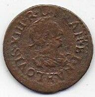 LOUIS XIII - Double Tournois 1640 - 1610-1643 Louis XIII Le Juste