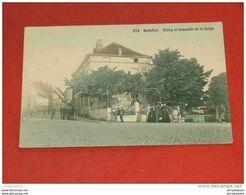 BRUXELLES - Boitsfort -   Etang Et Chaussée De La Hulpe  -  1910  - - Watermael-Boitsfort - Watermaal-Bosvoorde