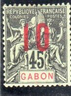 Gabon ,année1912 N°73** - Ongebruikt