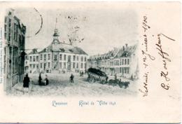 LESSINES  HOTEL DE VILLE EN 1848    CACHET  1900 - Lessines