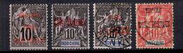 Indochine Colis Postaux Maury N° 1 Et N° 3/5 Neufs */oblitérés. B/TB. A Saisir! - Indochina (1889-1945)