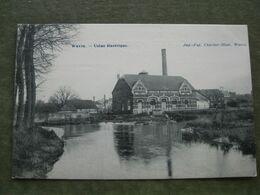 WAVRE - USINE ELECTRIQUE 1910 - Wavre