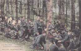 88 - Rambervillers - Militaria - A La Frontière - L'infanterie En Manoeuvre - Circulé En 1905 - Animée - TBE - Rambervillers