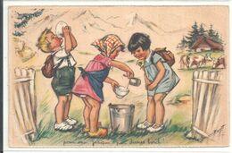 GERMAINE BOURET .. POUR MOI , JUSQUE PAR DESSUS BORD ! ... N° 2 ( Série 1938 )    ( Trait Blanc Pas Sur L'original ) - Bouret, Germaine