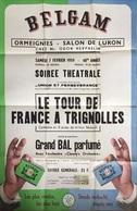 Ath, Ormeignies, Salon De Luron, Affiche Théâtre 1959. 76/50 Cm. - Posters