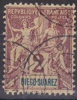 FAUX (de Fournier?) Diego Suarez Type Groupe 2c - Diego-suarez (1890-1898)