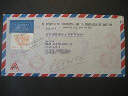 Peru 1979- Reco-Geschäftsbrief Mit Freistempel - Perú