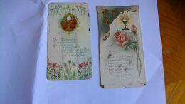 Images Pieuses Lot De 2 Roses Et Calice - Religion &  Esoterik