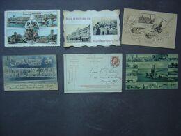 Blankenberge - Lot De 6 Cartes Anciennes - Multi-Vues - Un Bonjour - Souvenir - Blankenberge