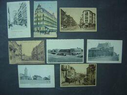 Blankenberge - Lot De 8 Cartes Anciennes - Divers Endroits - Rues - Gare - Blankenberge